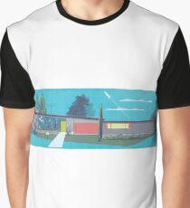 Suburban Bliss Graphic T-Shirt