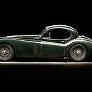 Jaguar XK 120 by Frank Kletschkus