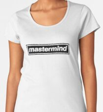 Mastermind - OASIS Band Tribute Women's Premium T-Shirt