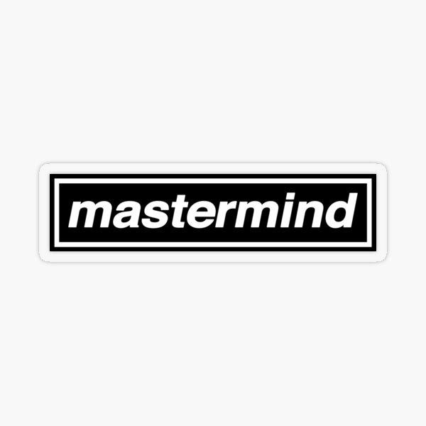 Mastermind - OASIS Band Tribute Transparent Sticker