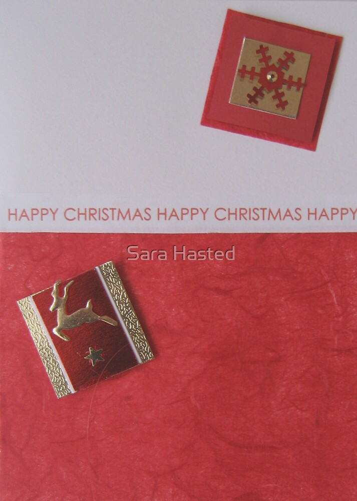 Christmas Card  by Sara Hasted