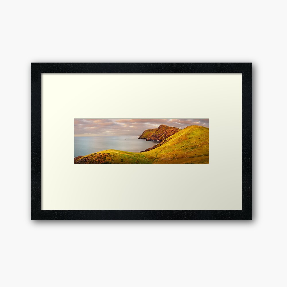 Golden Glow, Second Valley, Fleurieu Peninsula, South Australia Framed Art Print