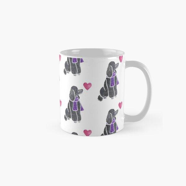 Watercolour Poodle Classic Mug