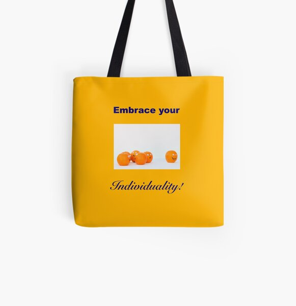 INDIVIDUALITY All Over Print Tote Bag