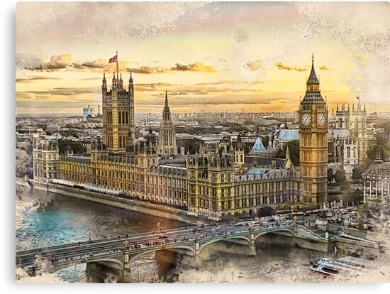 London city art 3 #london #city by JBJart