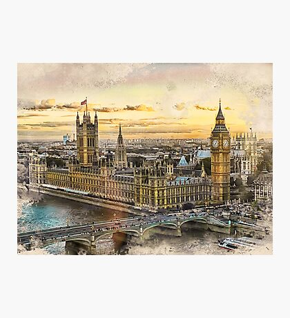 London city art 3 #london #city Photographic Print