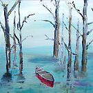 Red Canoe (Canada) by Colleen Ranney