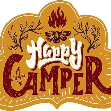 Happy Camper by berryferro