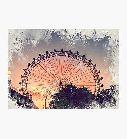 London city art 4 #london #city Photographic Print