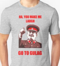 Stalin Go to Gulag Meme T-Shirt