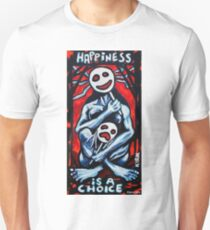 'HAPPINESS'  Unisex T-Shirt