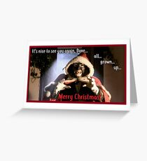 Papa Lazarou - Christmas nightmare Greeting Card