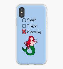Single? Genommen? Meerjungfrau! iPhone-Hülle & Cover