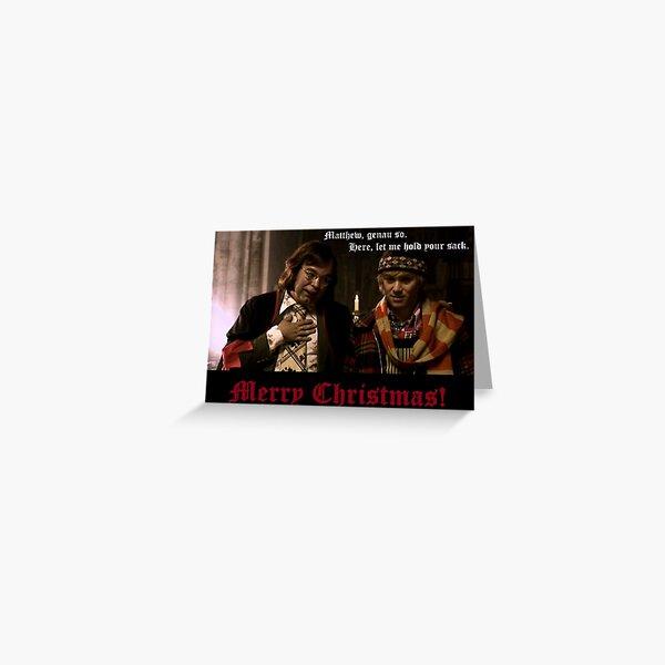 Herr Lipp, Christmas in Royston Vasey Greeting Card
