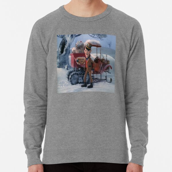 Santa Claus Is Coming To Town Lightweight Sweatshirt