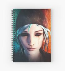 Chloe between Death and Life (is Strange) Spiral Notebook