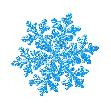 Snowflake vector - Hyperion white by chaoticmind75