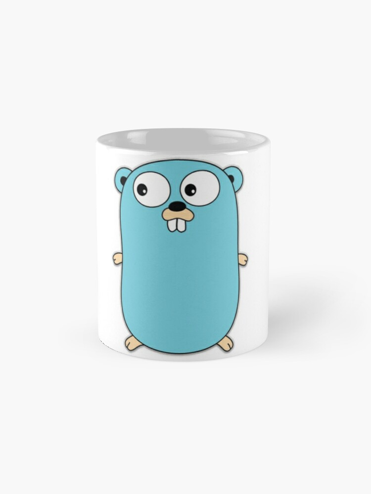 Vista alternativa de Taza Golang
