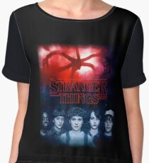 Stranger Things Season 2 Women's Chiffon Top