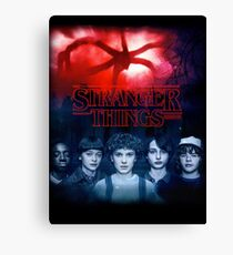 Stranger Things Season 2 Canvas Print