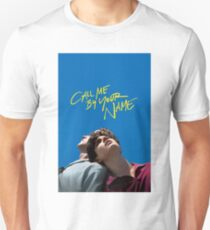call me by your name poster Unisex T-Shirt