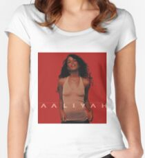 AALIYAH Women's Fitted Scoop T-Shirt