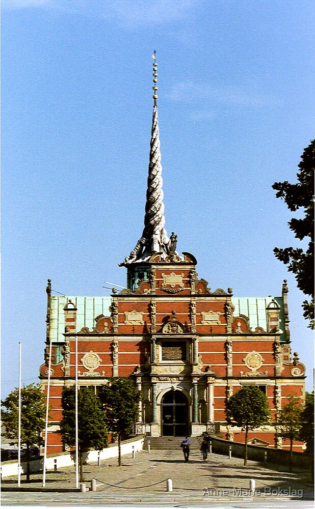 Børsen (The Stock Exchange) in Copenhagen by Anne-Marie Bokslag