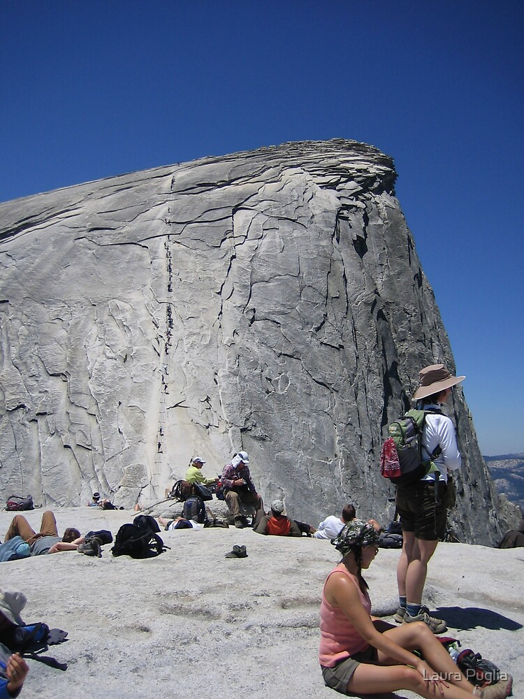 Just Before Half Dome by Laura Puglia