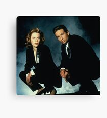 x files Canvas Print