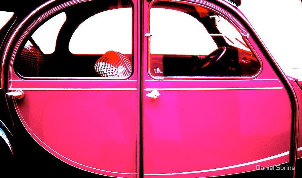 2CV Pink by Daniel Sorine