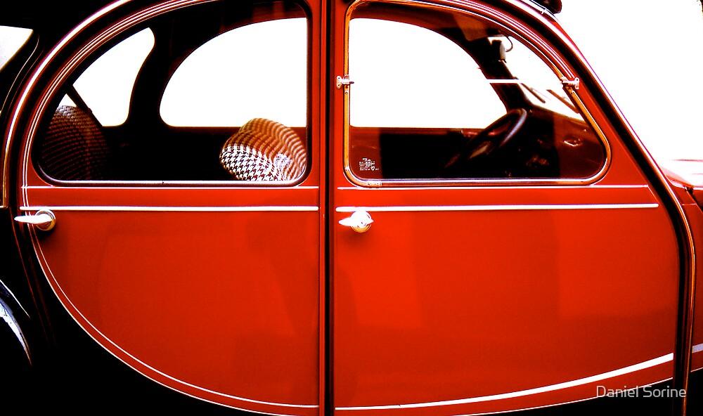 2CV Red by Daniel Sorine