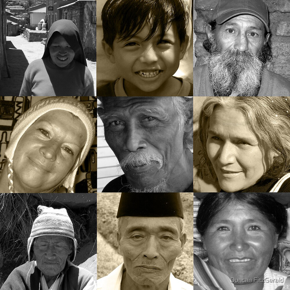 Faces From Places by Duncan FitzGerald