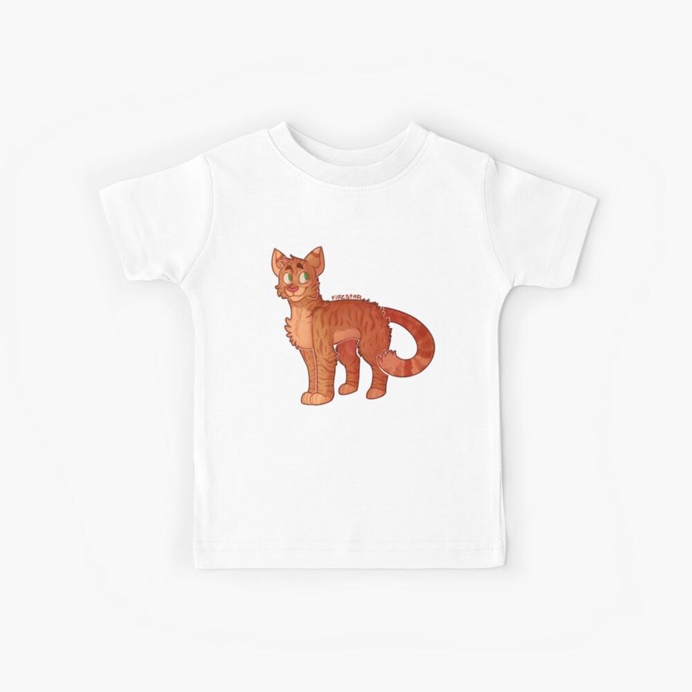 Firestar (Gatos Guerreros) Camiseta para niños