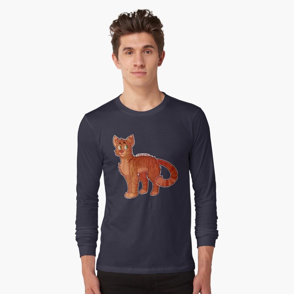 Firestar (Gatos Guerreros) Camiseta de manga larga