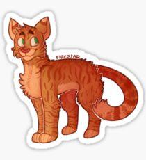 Firestar (Krieger Katzen) Sticker