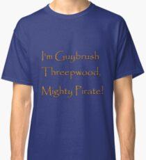 I'm Guybrush Threepwood, Mighty Pirate! Classic T-Shirt