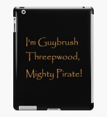 I'm Guybrush Threepwood, Mighty Pirate! iPad Case/Skin
