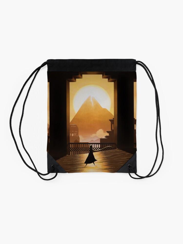 Alternate view of Golden Sands Drawstring Bag