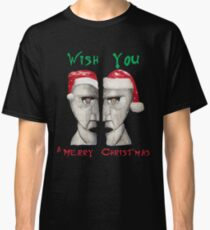 Wish You a Merry Christmas Classic T-Shirt