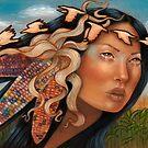 Selu Cherokee Native American Corn goddess by MoonSpiral