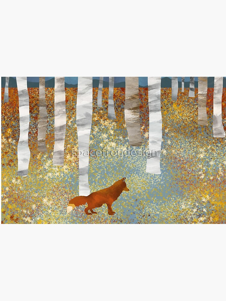 Autumn Fox by spacefrogdesign