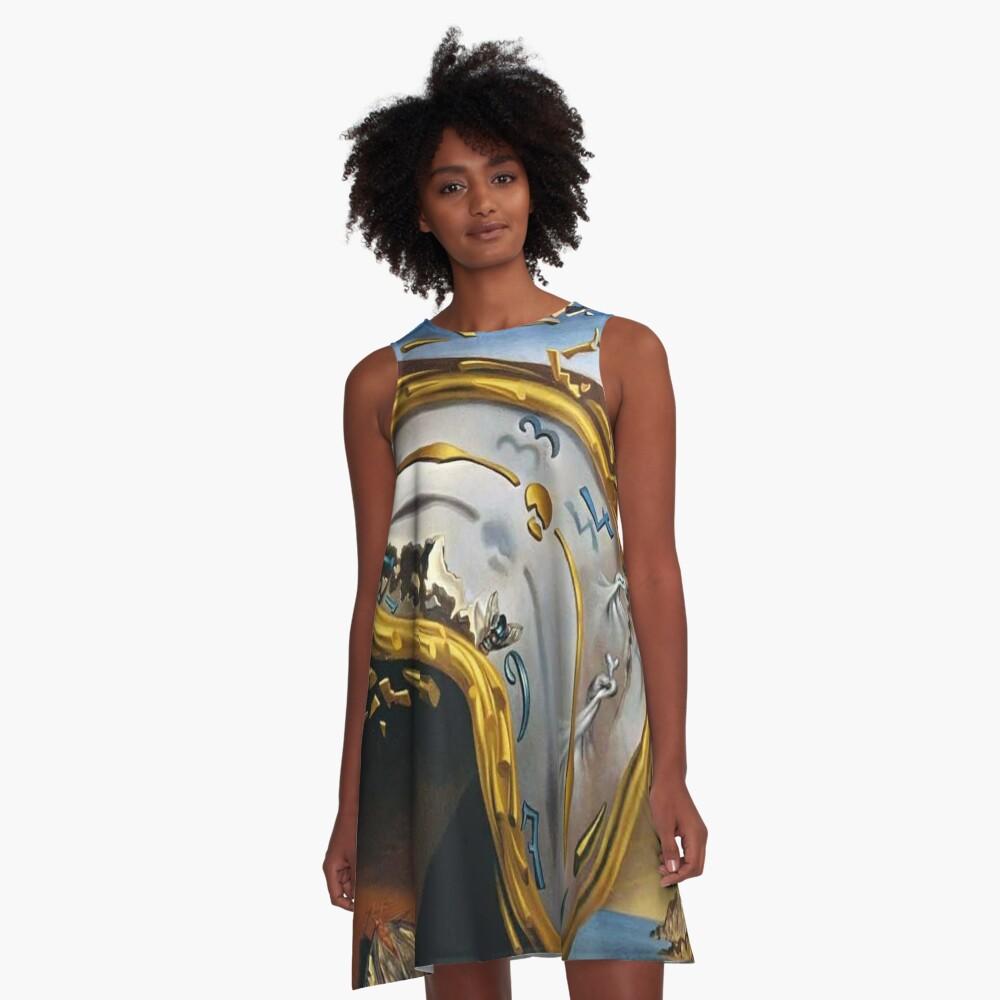 Salvador Dali A-Line Dress