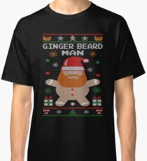 Ginger Beard Man Ugly Tees Classic T-Shirt