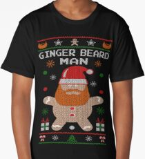 Ginger Beard Man Ugly Tees Long T-Shirt