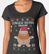 Ginger Beard Man Ugly Tees Women's Premium T-Shirt