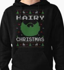 Hairy Christmas Beard Ugly Sweatshirt T-Shirt