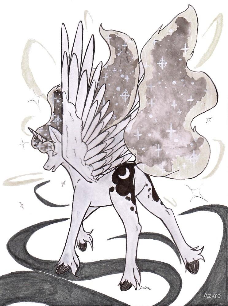 Luna you Shine by Azkre