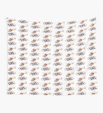 Landing helicopter Wall Tapestry