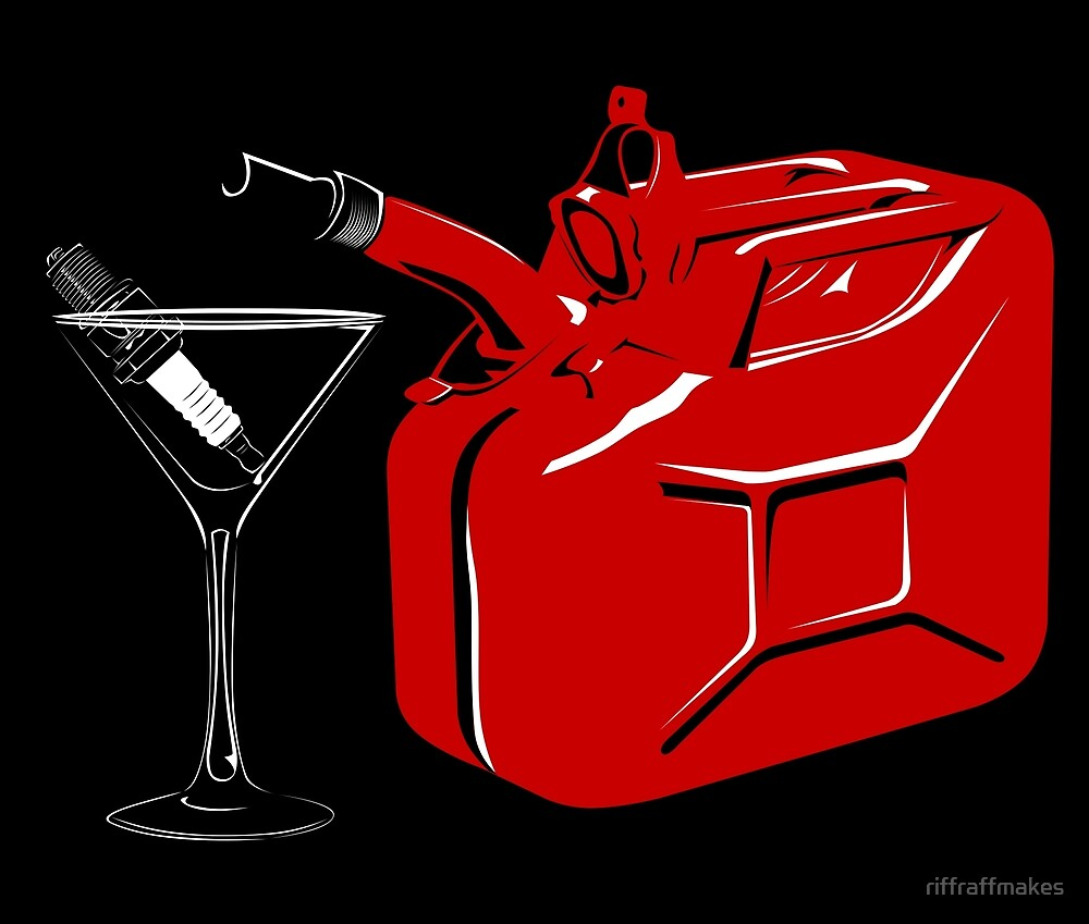 Gasolini Cocktail by riffraffmakes
