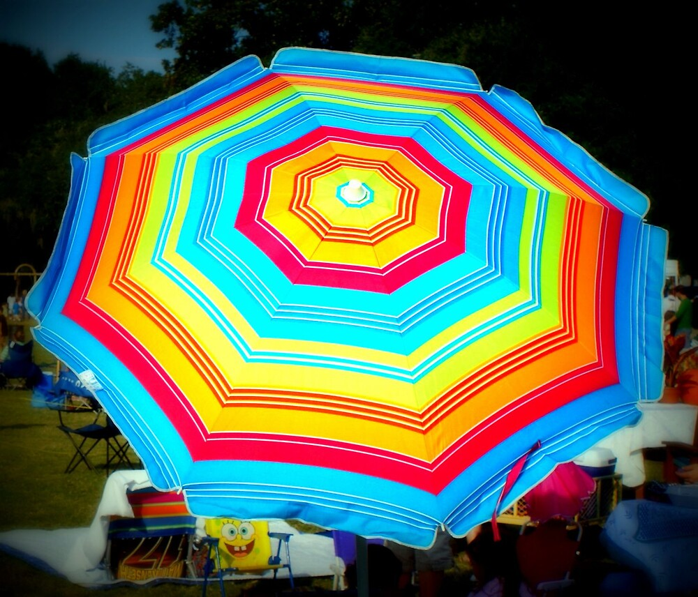 The Rainbow Umbrella by Shannon Byous Ruddy